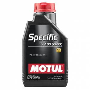 MOTUL Specific VW 504 00 507 00 0W30