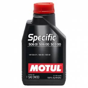 MOTUL Specific VW 506 01 506 00 503 00 0W30