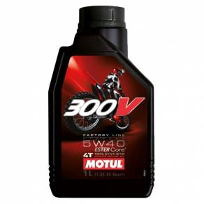 MOTUL 300V 4T OFF ROAD FACTORY LINE 5W40