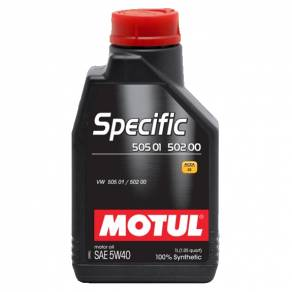 MOTUL Specific VW 502 00 505 00 505 01 5W40